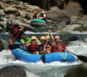 Water Rafting Tours